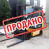 Дизельний вилочний навантажувач 1,8 тонн Nissan Y1D1A18T б/у