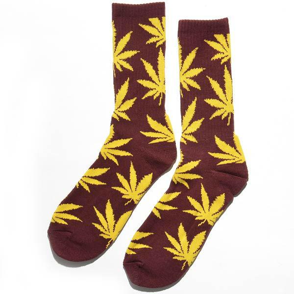 Шкарпетки (Носки) Huf - Plantlife Socks Burgundy/Gold - Unitedshop в Черновицкой области