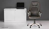 Кресло для руководителей FORSAGE Tilt PL35 кожа высшего качества LUX