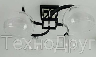 Люстра потолочная на 4 лампочки (28х44х56 см.) Черный, хром YR-51098/4