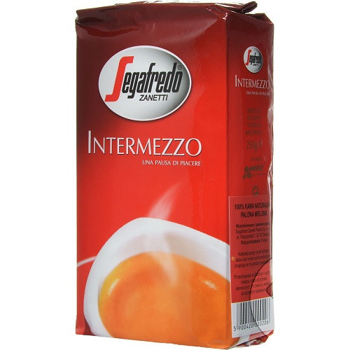 Кофе Segafredo intermezzo (красный)  молотый 0,25 кг
