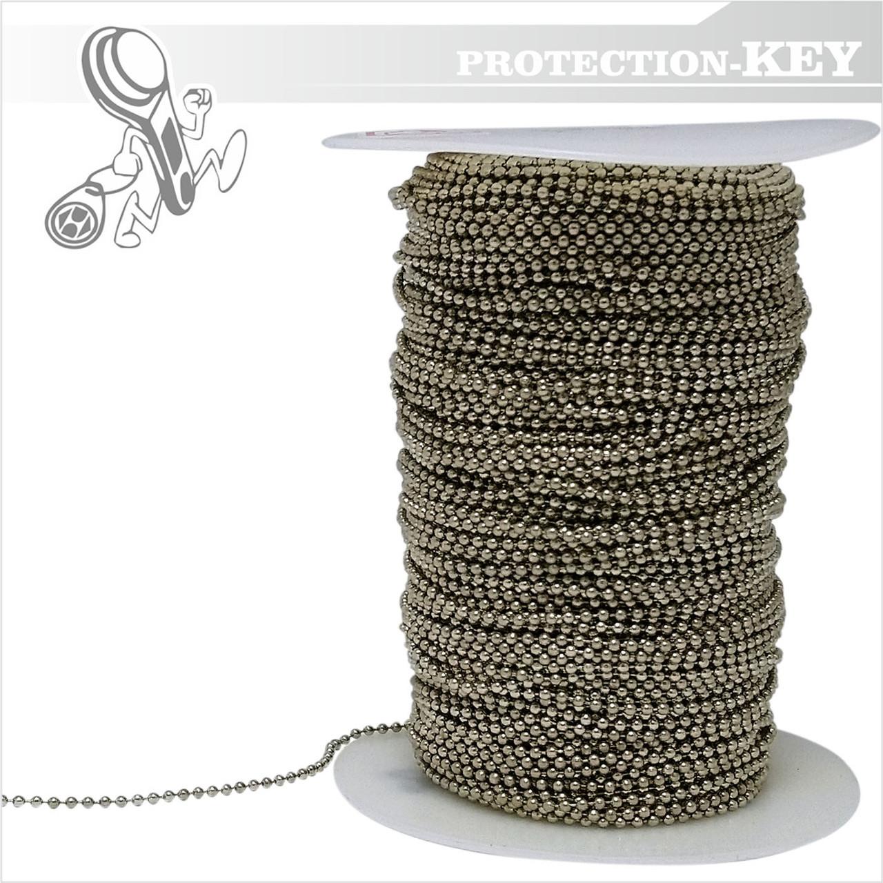 Шариковая цепочка 2 мм (сталь)