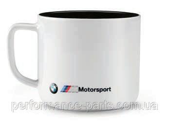 Керамическая кружка BMW M Motorsport Mug, White/Black, 80282461129