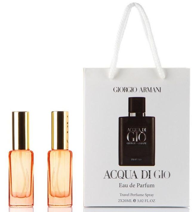 мужские мини парфюмы в подарочной упаковке Giorgio Armani Acqua Di