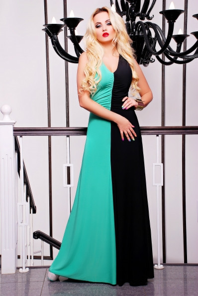 9d7ead832d0 Вечернее платье в пол двух цветное  продажа
