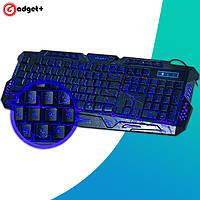 Игровая клавиатура с подсветкой молния Atlanfa M200