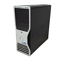 Сервер, Workstation, Dell T5500, Intel Xeon X5667, 4 ядра, 8 потоков по 3,46 GHz, 16 Гб ОЗУ, HDD 0 Гб, 875W