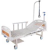 Кровать механическая E-17B (1 функция, 2 секции)