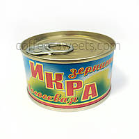 """Икра лососевая зернистая """"Долинка"""" 130 гр"""