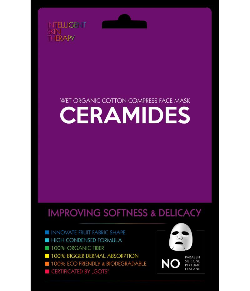 Маска тканевая для лица с керамидами (мягкость и нежность кожи), 1 шт.