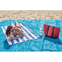 Анти-песок Пляжная чудо подстилка коврик для моря