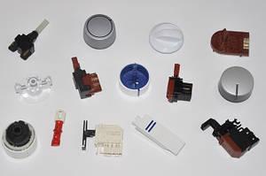 Элементы панели управления: ручки, клавиши, кнопки