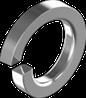 Шайба М2.5 пружинная (гровер)  ЦБ DIN 7980