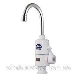 Кран для нагрева воды 3 кВт с отображением температуры воды