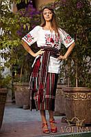Платье.Вышиванка женская. Ткань – домотканая 100% хлопок