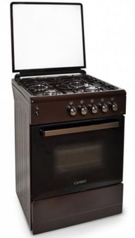 Плита газовая Canrey CGЕ5040GTкоричневая