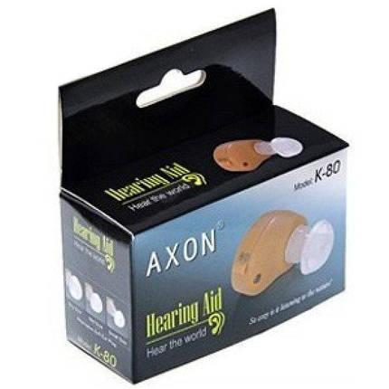 Внутриушной слуховой аппарат Axon K-80, фото 2