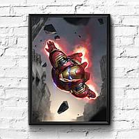 Постер с рамкой Iron Man, Marvel #1