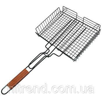 Решетка для гриля Bbq сетка для шашлыка 20х27 см