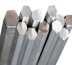 Шестигранник алюмінієвий Д16Т d 17