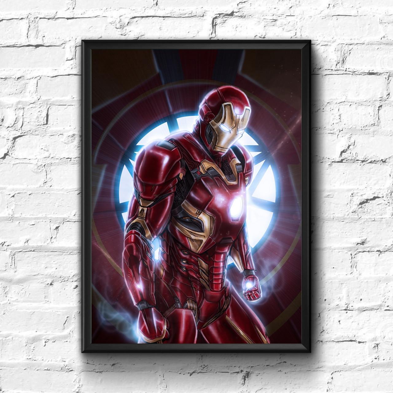 Постер с рамкой Iron Man, Marvel #4