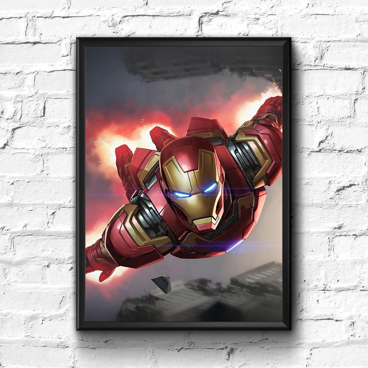 Постер с рамкой Iron Man, Marvel #5