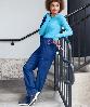 Медицинские брюки, женские (Happy Scrubs Women's Bliss Yoga Scrub Pants), фото 3