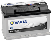 Аккумулятор автомобильный VARTA BLACK DYNAMIC 70AH R+ 640A (E9)