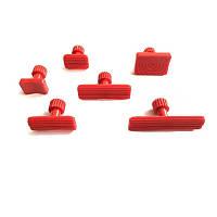 Грибки клеевые Красные (6ШТ) набор сменных насадок PDR