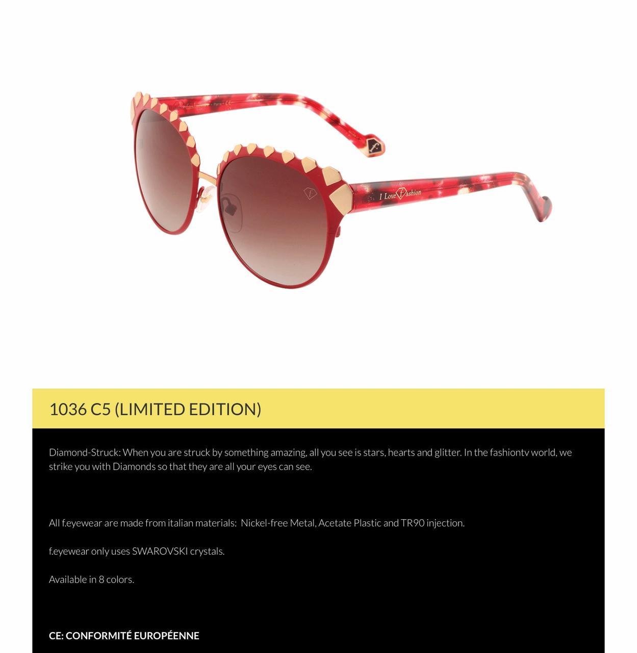 Солнцезащитные очки Fashion TV 1036