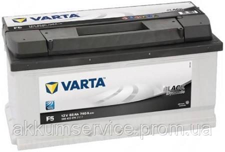 Аккумулятор автомобильный VARTA BLACK DYNAMIC 88AH R+ 740A (F5)