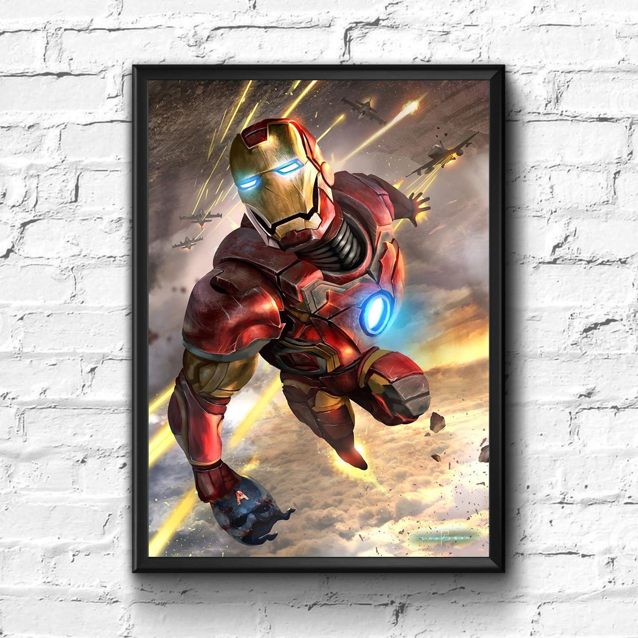Постер с рамкой Iron Man, Marvel #9