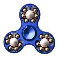 Спиннер Spinner стальной с шариками Синий №52