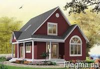 Построить для Вас загородный дом по каркасной технологии