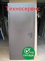 Двери противопожарные ДМП ЕІ60 2100х900 металлические глухие