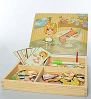 Деревянный игровой набор для малышей (три вида), фото 1
