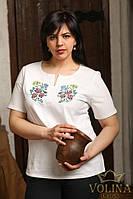 Футболка женская. Вышиванка женская. Футболка вишиванка. Ткань – «Кулир» 170