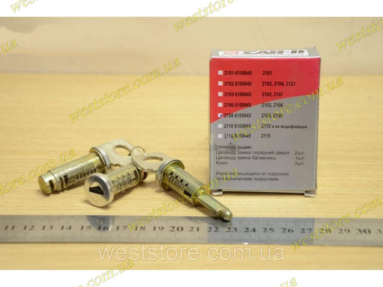 Личинки (цилиндры) замков дверей Ваз 2108 2109 21099
