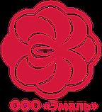 """Емальований посуд 4 предмета Біла лілія 2-3119/4 """"ЕМАЛЬ"""", фото 2"""