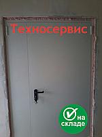 Двери противопожарные ДМП ЕІ60 2100x1400 металлические глухие