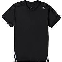Футболка спортивная мужская adidas Base Mid Dry Dye Tee M S21591 (черная, полиэстер, для тренировок, адидас), фото 1