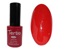 Гель лак Tertio 005, красный алый, 10мл