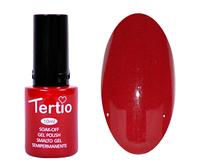 Гель лак Tertio 006, красный насыщенный темный, 10мл