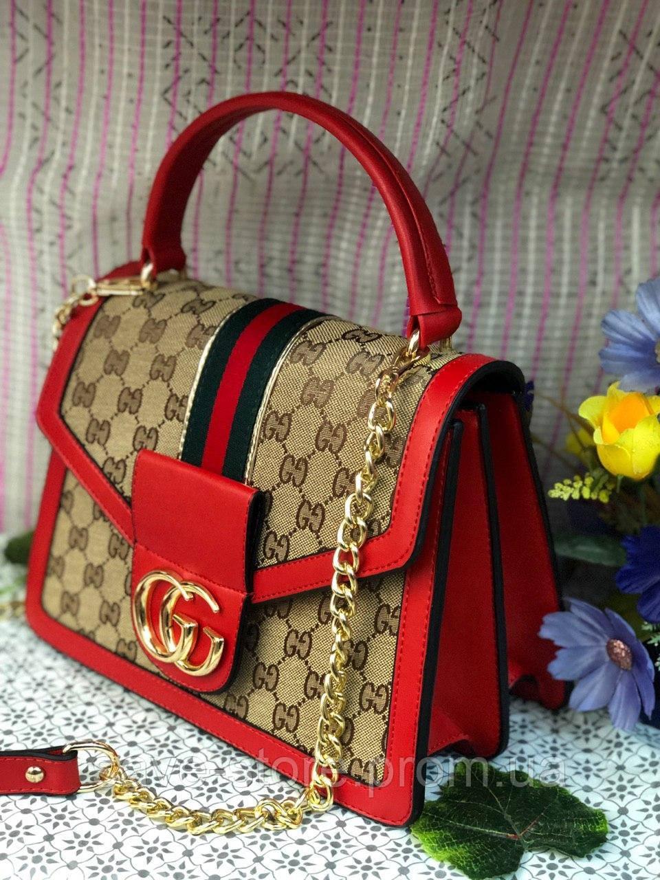 89cef9c6c7fb Женская сумка Gucci (Гуччи), женская модная сумочка, люкс качество -  GotoBag -