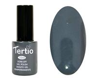 Гель лак Tertio 036, темно серый, 10мл