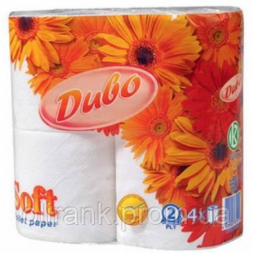 """Туалетная бумага """"Диво"""" 2-слой. целлюлозная 4рул/уп (24уп/меш)"""