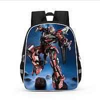 Школьный рюкзак Transformer Red для начальной школы