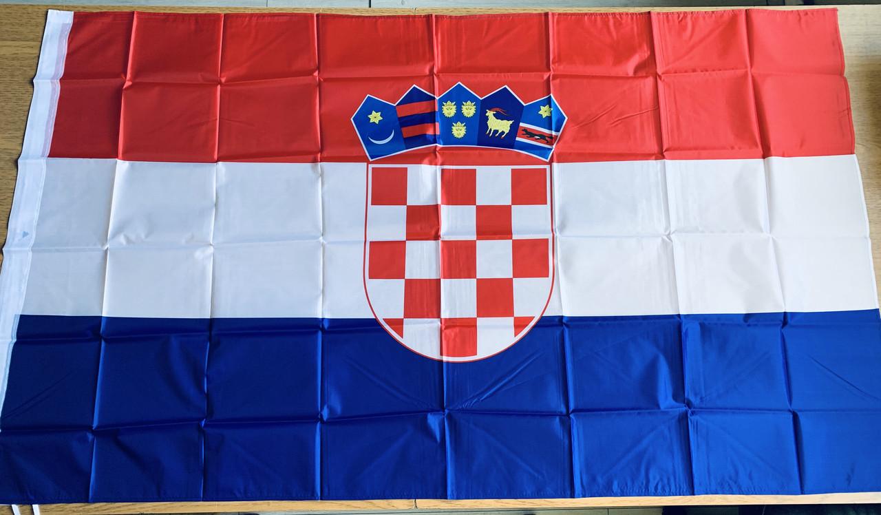 Флаг Хорватии - (Печать) - (0.9м*1.5м)