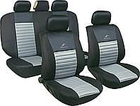 Авточехлы универсальные автомобильные  для салона полный Milex Tango серые