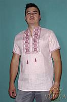Вышиванка мужская. Сорочка чоловіча, Рубашка мужская. Ткань – лен 100%